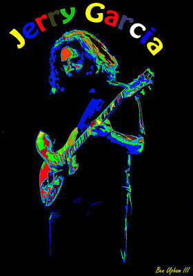 Photograph - Jerry Dipped In Colors by Ben Upham III