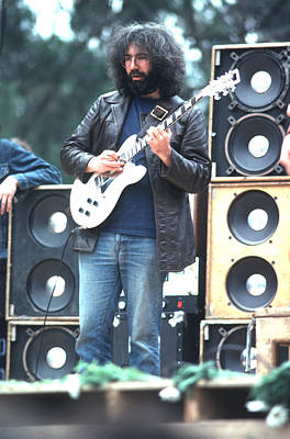 Jerry Garcia Photograph - Jerry Garcia - Grateful Dead by Ron Draper