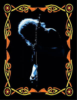 Jerry Garcia Photograph - J G In Cheney 5 by Ben Upham