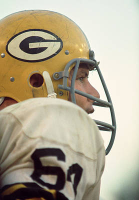 64 Photograph - Jerry Kramer Close Up by Retro Images Archive
