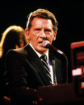 Jerry Photograph - Jerry Lee Lewis by Silver Screen