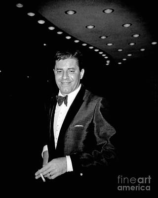 Hollywood Palladium Photograph - Jerry Lewis 1962 by Martin Konopacki Restoration