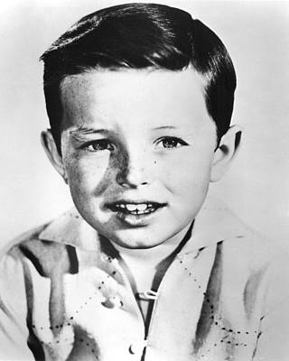 Beaver Photograph - Jerry Mathers In Leave It To Beaver  by Silver Screen