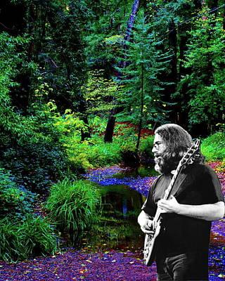 Jerry's Sunshine Daydream 2 Art Print