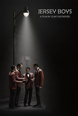 Cabin Wall Digital Art - Jersey Boys By Clint Eastwood by Movie Poster Prints