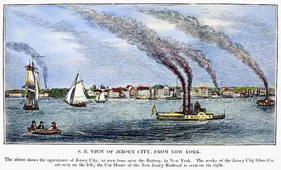 Jersey City, 1844 Art Print by Granger