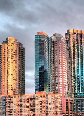 Upscale Photograph - Jersey City Color by JC Findley