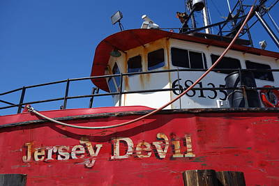 Photograph - Jersey Devil Clam Boat by Joan Reese