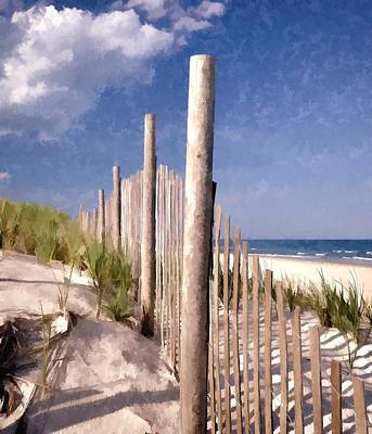 Photograph - Jersey Shore  by Allen Beatty