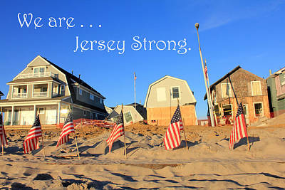 Photograph - Jerseystrong by Mary Haber