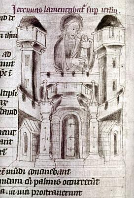 Jerusalem Painting - Jerusalem, 15th Century by Granger