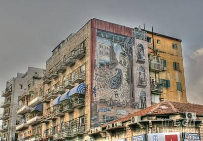 Photograph - Jerusalem Appartment Block by David Birchall
