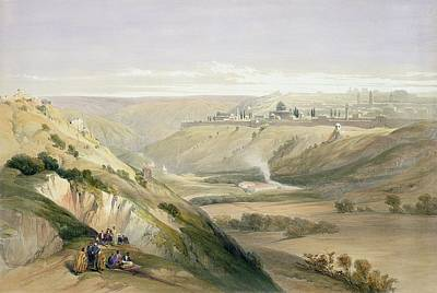 Dome Painting - Jerusalem April 5th 1839 by David Roberts