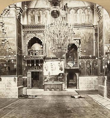 Jerusalem Painting - Jerusalem Armenian Church by Granger