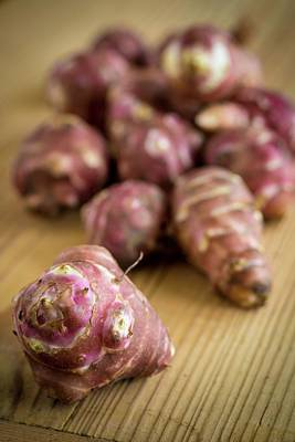 Artichoke Photograph - Jerusalem Artichokes by Aberration Films Ltd