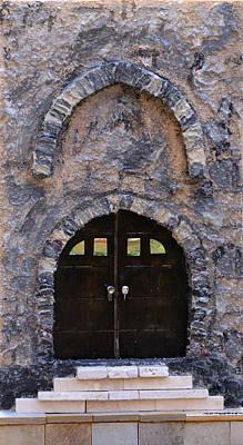 Jerusalem Doorway Art Print by Robert Handler