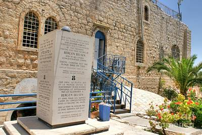Photograph - Jerusalem Holocaust Museum by David Birchall