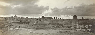 Jerusalem In The Early 20th Century Art Print
