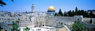 Western Wall Photograph - Jerusalem, Israel by Panoramic Images