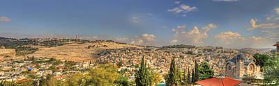 Photograph - Jerusalem Landscape by Don Wolf