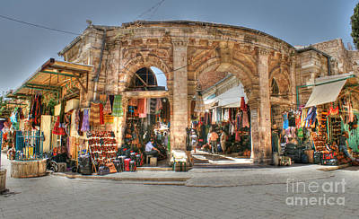 Photograph - Jerusalem Market by David Birchall