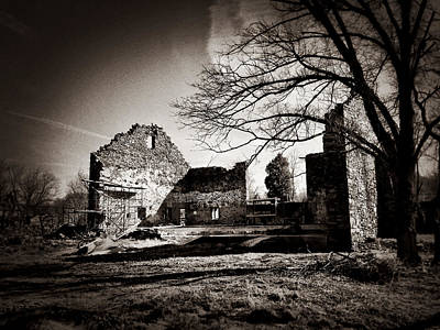 Photograph - Jerusalem Mill Ruins by Chris Montcalmo