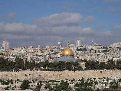 Photograph - Jerusalem Old City by Karen Jane Jones