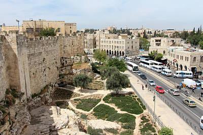 Jerusalem Old City Wall Original