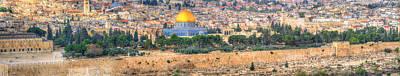 Photograph - Jerusalem Panorama by Don Wolf