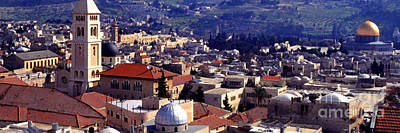 Jaffa Photograph - Jerusalem Panoramic by Thomas R Fletcher