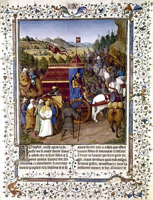 Jerusalem Painting - Jerusalem Temple, 63 B by Granger