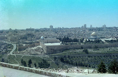 Photograph - Jerusalem by Tony Mathews