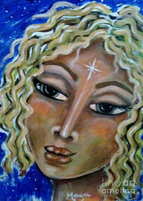 Painting - Jerusha by Maya Telford