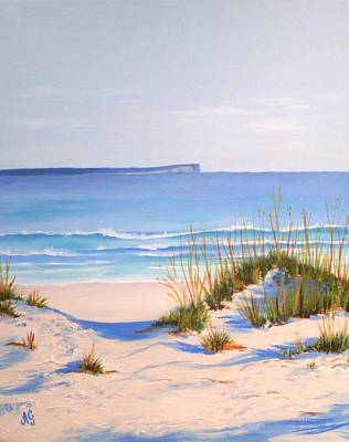 Painting - Jervis Bay by Anne Gardner