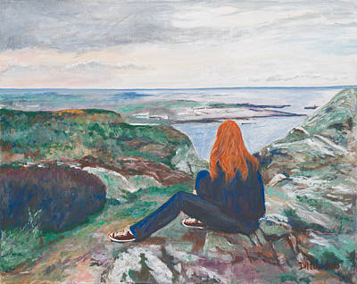 Painting - Jess In Ireland by Chrissey Dittus
