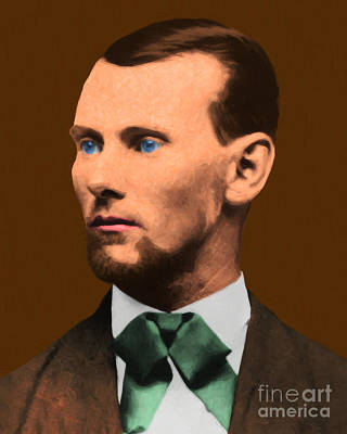 Jesse James 20130515 Art Print by Wingsdomain Art and Photography