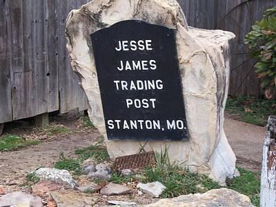 Jesse James Trading Post Art Print