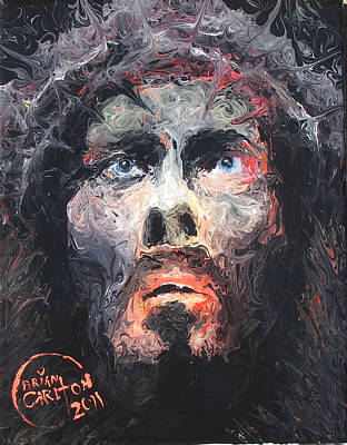 Jesus 002 Art Print by Brian Carlton