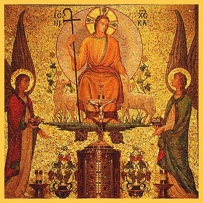 Religious Art Digital Art - Jesus Altar by Philip Ralley