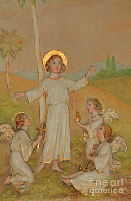 Jesus Among The Angels Original