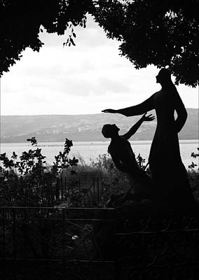 Photograph - Jesus And Saint Peter By Sea Of Galilee by Kathryn McBride