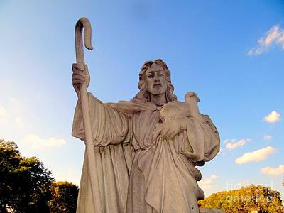 Photograph - Jesus And Staff by Ed Weidman