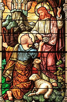Photograph - Jesus And The Lamb by Adam Jewell