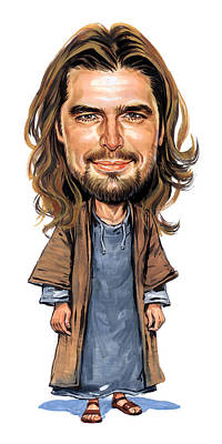 Jesus Print by Art