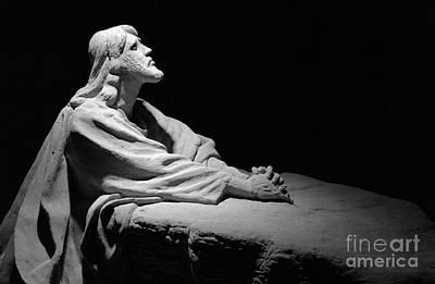 Jesus At Gethsemane Original by David Ricketts