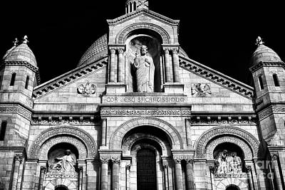 Photograph - Jesus At Sacre Coeur by John Rizzuto