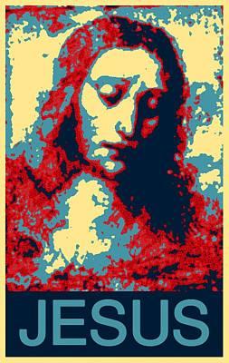Jesus Christ Digital Art - Jesus Christ by Barbara Snyder