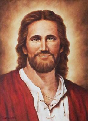 Jesus Christ Art Print by Bryan Ahn