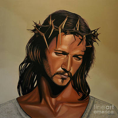 Icon Painting - Jesus Christ Superstar by Paul Meijering