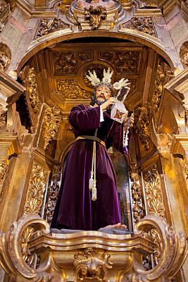 Jesus Christ Carrying The Cross Art Print